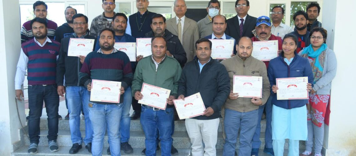 training-of-veterinary-officers-on-ai-in-goats-from-government-of-madhya-pradesh