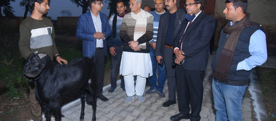 inauguration-of-feed-processing-unit-by-honble-minister-shri-lakshmi-narayan-jee-valedictory-function-of-3-days-training-program-on-ai-in-goats-dated-06-01-2021