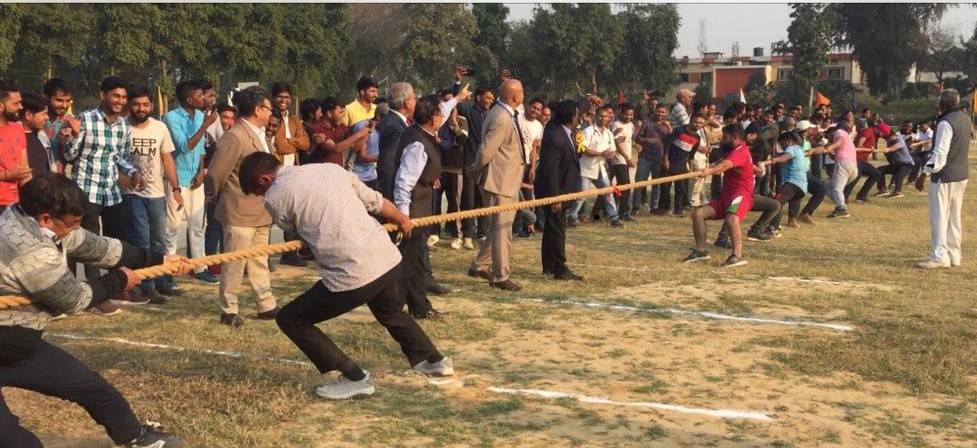 Tug-of-War between Teachers and Students during DUVASU Annual Sports-2019