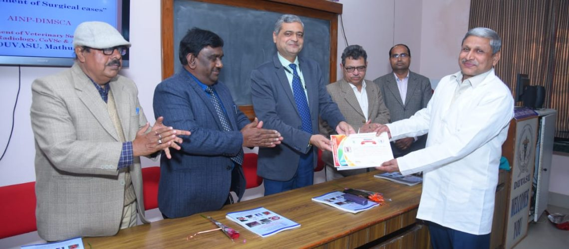 a-six-day-training-program-on-the-topic-newer-concepts-in-diagnosis-and-management-of-surgical-cases-organized-by-department-of-veterinary-surgery-and-radiology-co-v-sc-a-h-under
