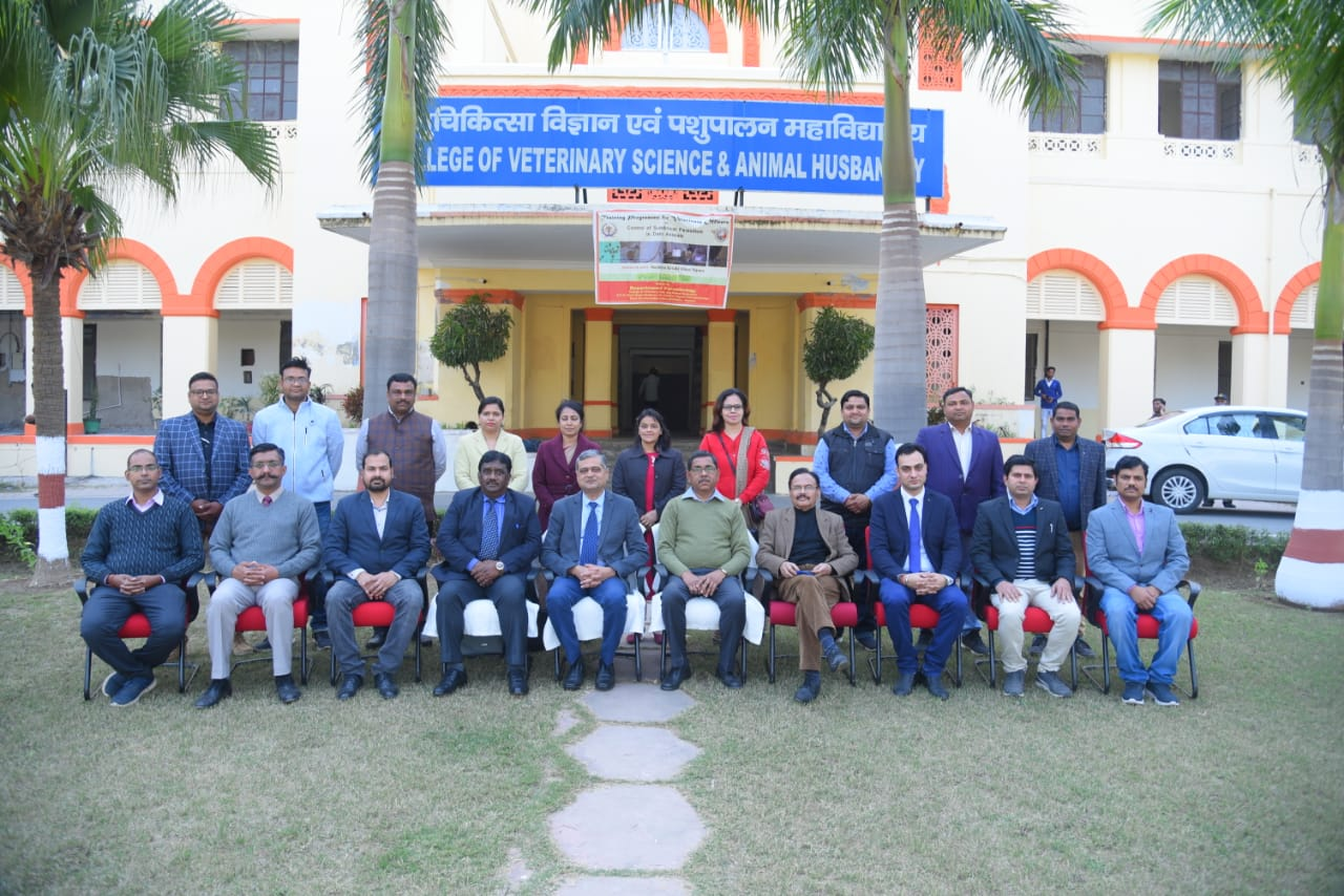 VALEDICTORY FUNCTION : Department of Veterinary Parasitology conducted a three days TRAINING PROGRAM under RKVY funded project for State Veterinary Officers