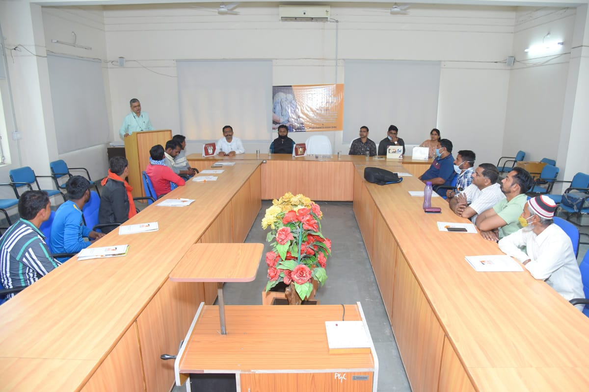 Today in the inaugural session of the 10 days training program of farriers in the Farriery School in department of LPM, College of Veterinary Science and AH, DUVASU, Mathura