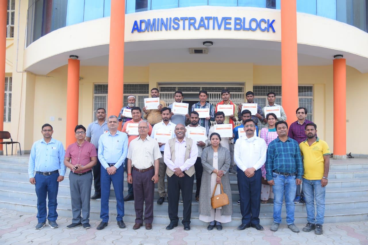 Valedictory function of 10 Days Farrier bridge course